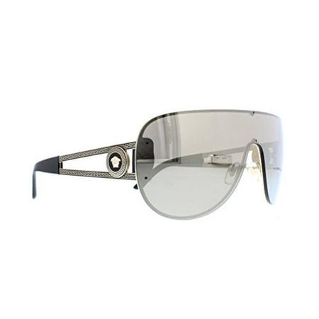 ecd1fc62fa ... Versace Versace Shield Sunglasses VE 2166 12525A Pale Gold