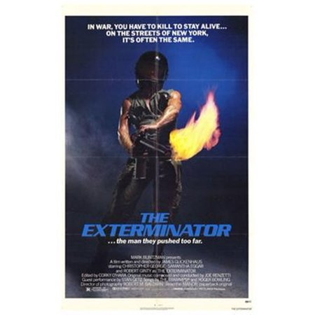 The Exterminator Movie Poster (11 x 17)