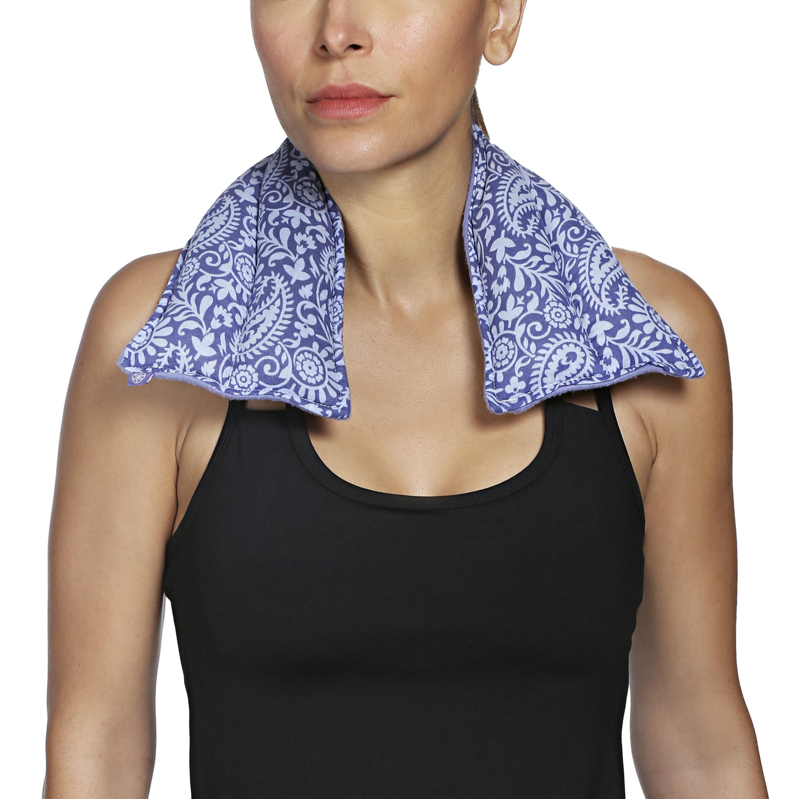 Gaiam Relax Neck/Shoulder Wrap Purple
