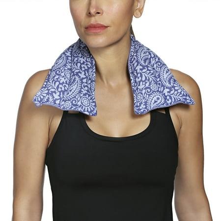 Gaiam Relax Neck/Shoulder Wrap Purple ()
