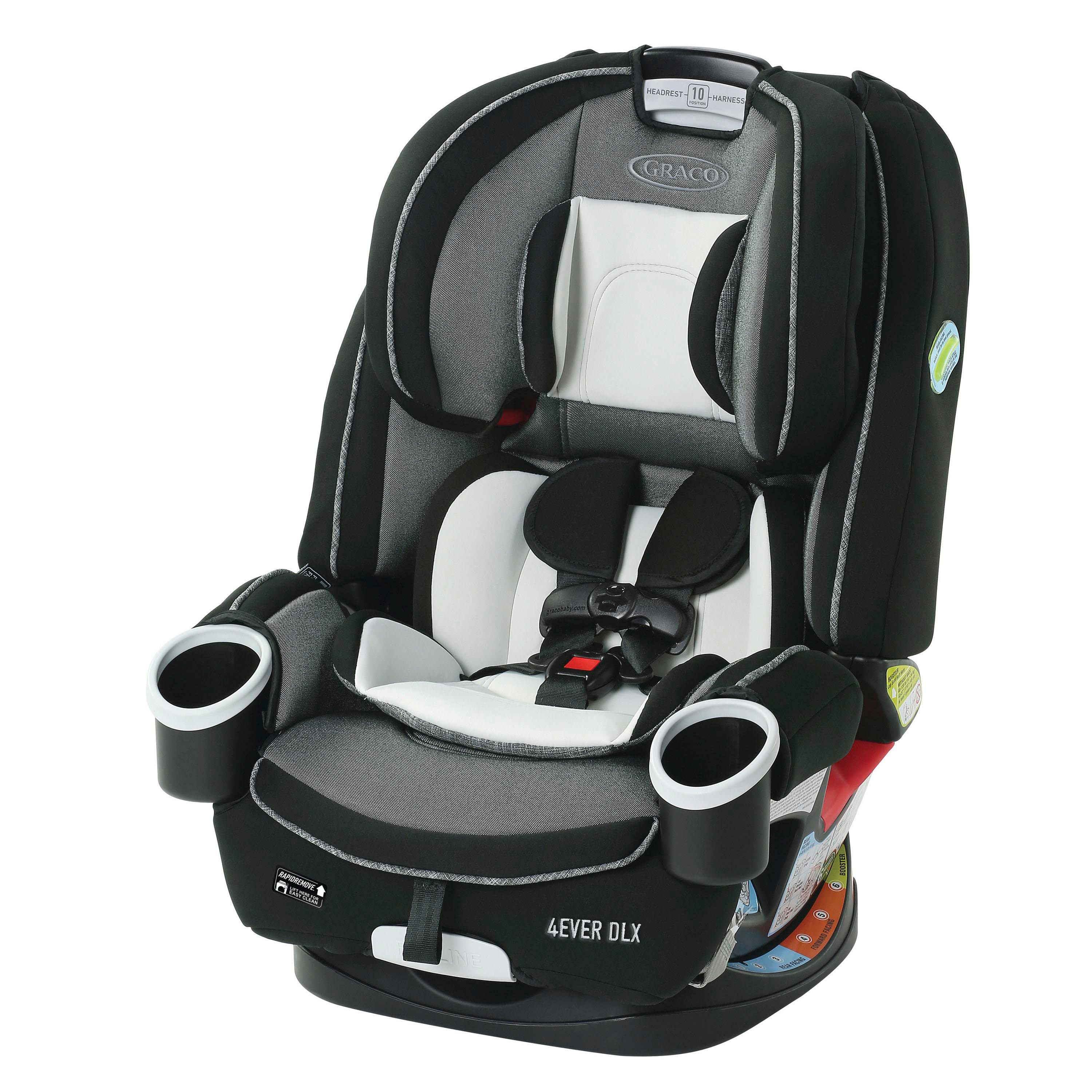 Graco 4Ever DLX 4-in-1 Convertible Car Seat, Fairmont ...