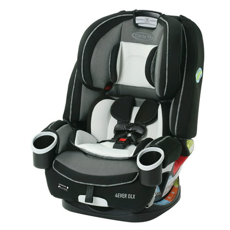 Graco 4Ever DLX 4-in-1 Convertible Car Seat, Fairmont Black