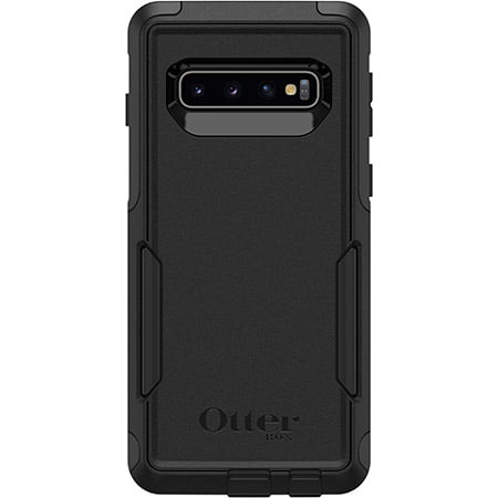 OtterBox Commuter Series Drop Protection Rubber Case for Samsung Galaxy S10 - Black (Otter Box For Samsung Galaxy Tab)