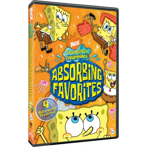 SPONGEBOB SQUAREPANTS-ABSORBING FAVORITES (DVD) (FF)