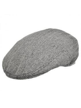 505ebc6c510fea Product Image Herringbone Wool Blend Ivy Cap - XXL - Gray. Jaxon Hats