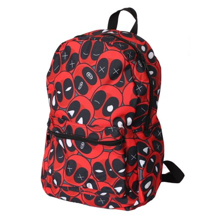 Deadpool Expressions All- Over Print Backpack - Deadpool Book Bag
