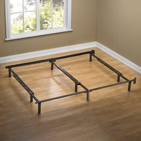 Zinus Compack Adjustable Steel Bed Frame For Box Spring Amp Mattress Set Fits