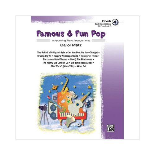 Famous & Fun Pop, Book 4 - Piano