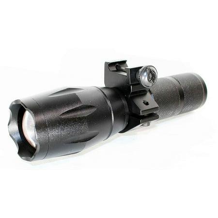 Flashlight LED 1000 Lumens LED Waterproof Shock-Proof Impact Resistant Shotgun.
