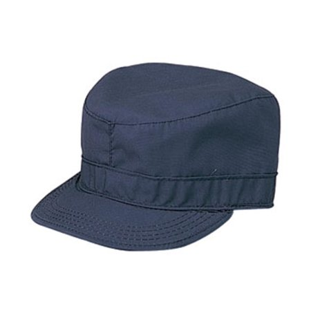 Military Style Navy Blue Fatigue (Navy Blue Fatigue Cap)
