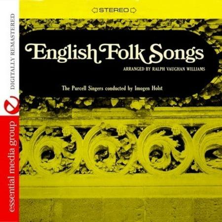 English Folk Songs (CD) (Remaster) English Folk Song