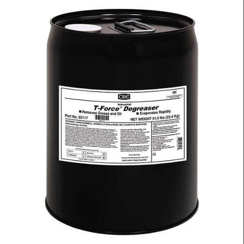 CRC 03117 Cleaner Degreaser,Slight Ethereal,5 gal.