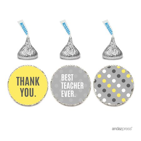 Throw The Best Halloween Party Ever (Chocolate Drop Labels Trio, Hershey's Kisses Party Favors, Best Teacher Ever Neutral,)