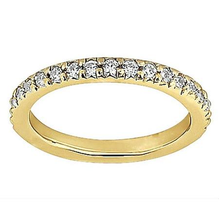 Harry Chad Enterprises HC12284 1.5 CT Diamonds Eternity Anniversary Band Ring - 14K Yellow Gold - Size 6.5 - image 1 of 1