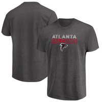 Men's Majestic Heathered Charcoal Atlanta Falcons Come Into Play T-Shirt