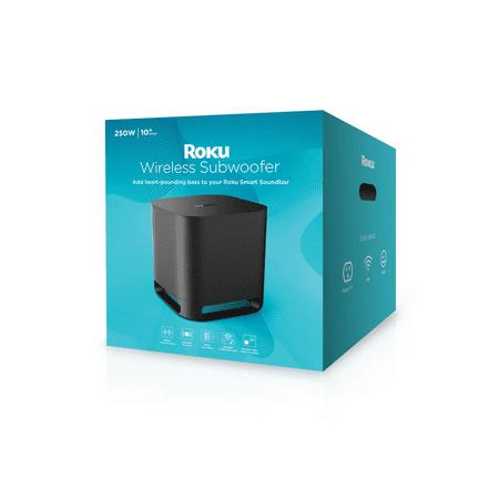 Roku Wireless Subwoofer (for Roku Audio or Roku TV)