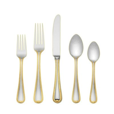 Lenox 5-Piece Vintage Jewel Gold Place Setting - Place Settings Ideas