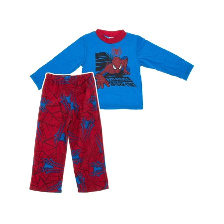 Marvel Comics Boys The Amazing Spider-man Pajama Set M/8 (The Amazing Spider Man Suit For Sale)