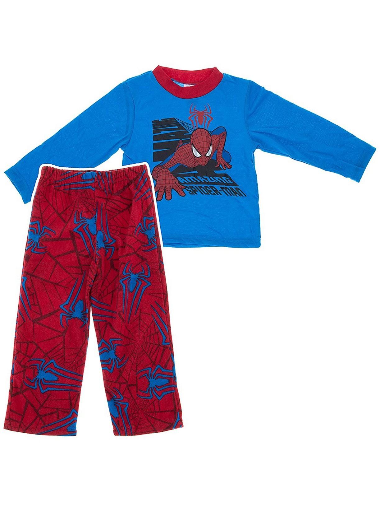 Marvel Comics Boys The Amazing Spider-man Pajama Set M/8