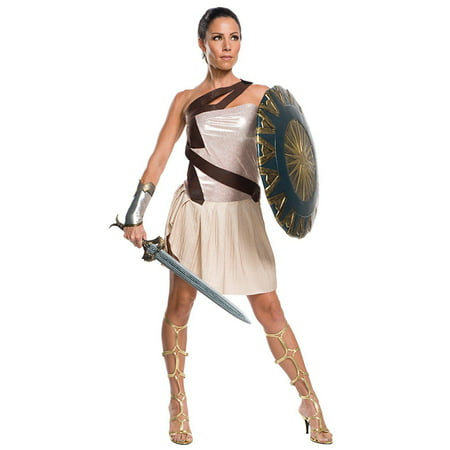 Wonder Woman Movie - Wonder Woman Beach Battle Deluxe Women's Costume (Wonder Woman Beach)