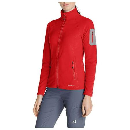 Eddie Bauer First Ascent Women's Cloud  Fleece Full Zip Jacket (Womens Outdoor Apparel)