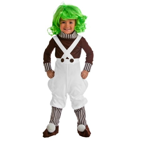 Toddler Oompa Loompa Costume - Oompa Loompa Costume Toddler