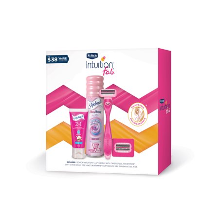 Schick Intuition f.a.b. 2018 Holiday Razor Gift Set Goblet Gift Set