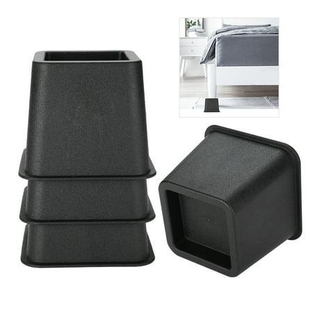 Cergrey 4pcs / set 3 élévateurs de meubles chaise de lit réglable Riser pieds larges élévateurs, supports de lit, élévateurs de meubles - image 2 de 7