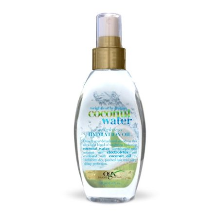 OGX Weightless Hydration Coconut Water Oil, 4