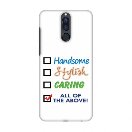 Huawei Honor 9i Case, Premium Handcrafted Designer Hard Shell Snap On Case Shockproof Printed Back Cover with Screen Cleaning Kit for Huawei Honor 9i , Slim, Protective -