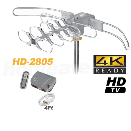 Lava HD2805 Ultra Outdoor HDTV Antenna with G3 Control Box