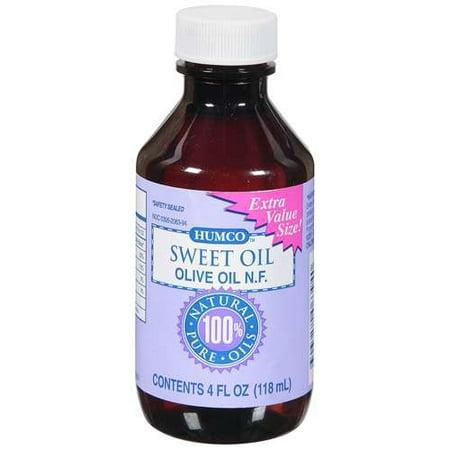Humco: 100% Natural Pure Sweet Oil Olive Oil N.F., 4 Fl