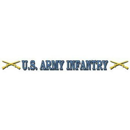 Us Army Infantry Window Strip Decal (16 Inch)