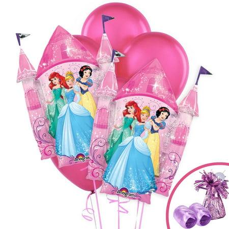 Disney Princess Jumbo Balloon Kit (Disney Princess Table Cover)