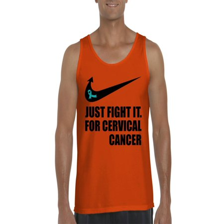 e05451d622054 Cervical Cancer Just Fight It Men Ultra Cotton Tank Top - Walmart.com
