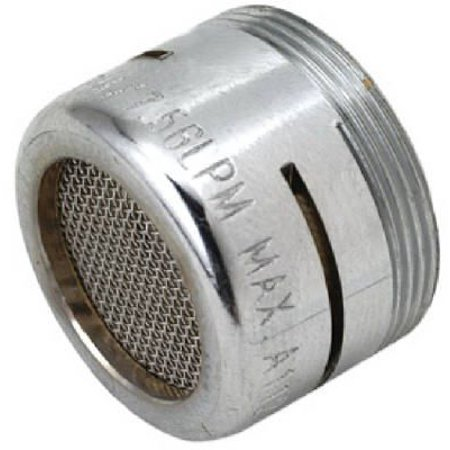 SF0072X Faucet Aerator Low Flow Chrome Plated Brass Dual Thread 15 16