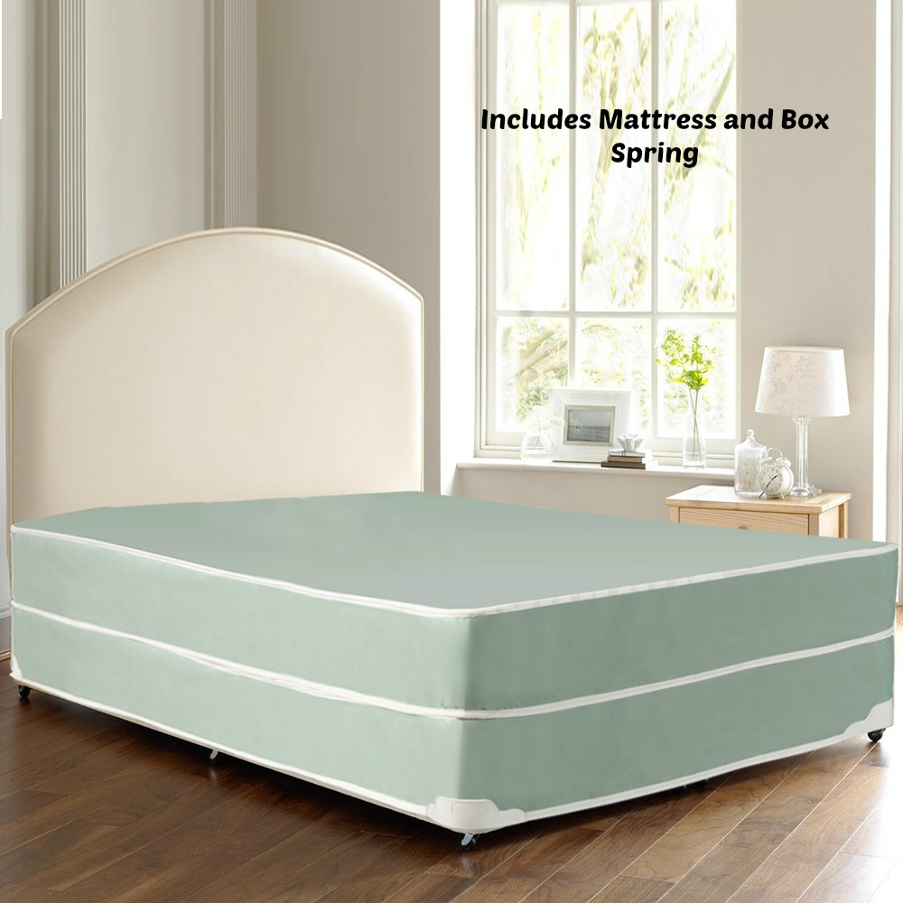 continental sleep, innerspring system waterproof vinyl innerspring
