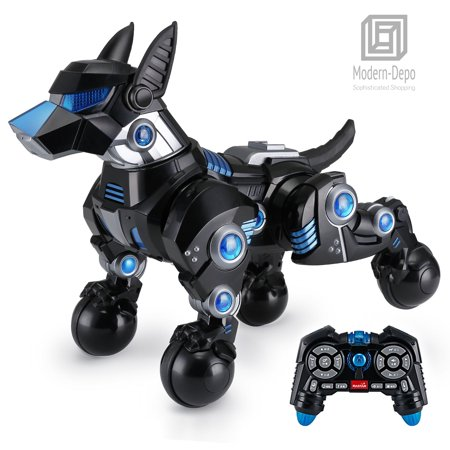 Rastar Intelligent Robot Dog with Remote control for Kids, USB Charging, Dancing Demo (Robots For 4 Year Olds)