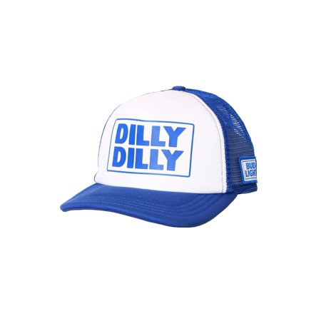 Dilly Dilly Bud Light White/Blue Trucker Hat | Walmart Canada