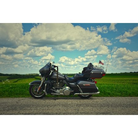 LAMINATED POSTER Transportation Travel Trip Motorcycle Harley Poster Print 24 x