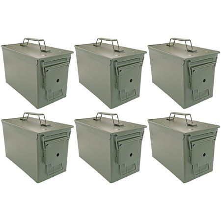 .50 Cal Ammo Cans, Set of 6 thumbnail