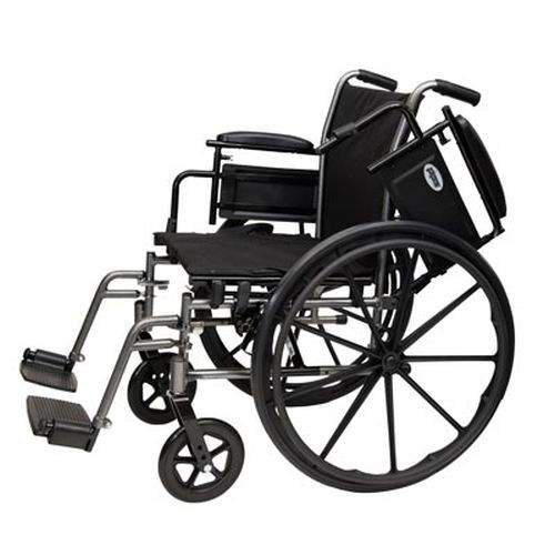 ProBasics K4 Wheelchair with Swingaway Footrests 20x16 - 1 Each / Each