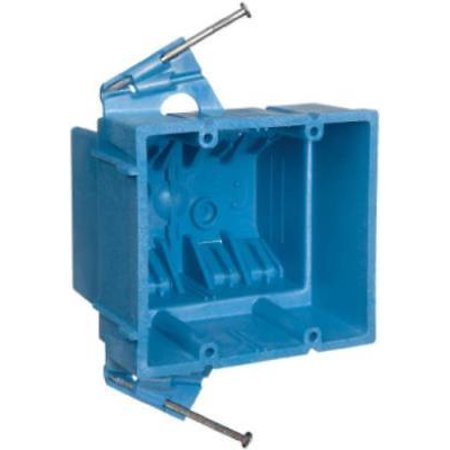Admirable 2 Gang New Work Super Blue Hard Body Wiring Box 35 Cuin Capacity 4Pk Wiring 101 Cajosaxxcnl