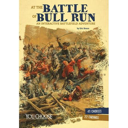 At the Battle of Bull Run: An InteractiveBattlefield Adventure -