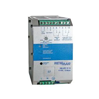 Newmar Battery (NewMar - BDS-DIN-UPS 12-10 - DIN rail mount DC UPS / Battery Detection System (BDS), Input 115/230 VAC, Output 12 VDC)