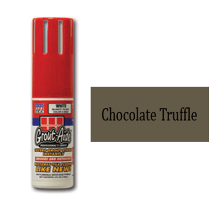 Grout-Aide 058058 4 oz Squeeze Action Applicator Bottle, Chocolate Truffle - Pack of 6