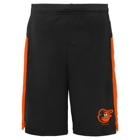 Baltimore Orioles Youth Grand Slam Shorts - Black