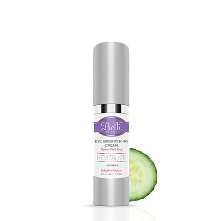 Belli Eye Brightening For Dark Circles and Fine Lines Revitalize Tired Eyes OB/GYN and Dermatologist Recommended 0.5