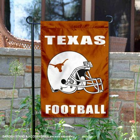 "Texas Longhorns Football Helmet 13"" x 18"" College Garden Flag"