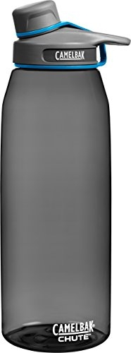 CamelBak Chute Water Bottle, 1.5 L, Charcoal by CamelBak Products LLC